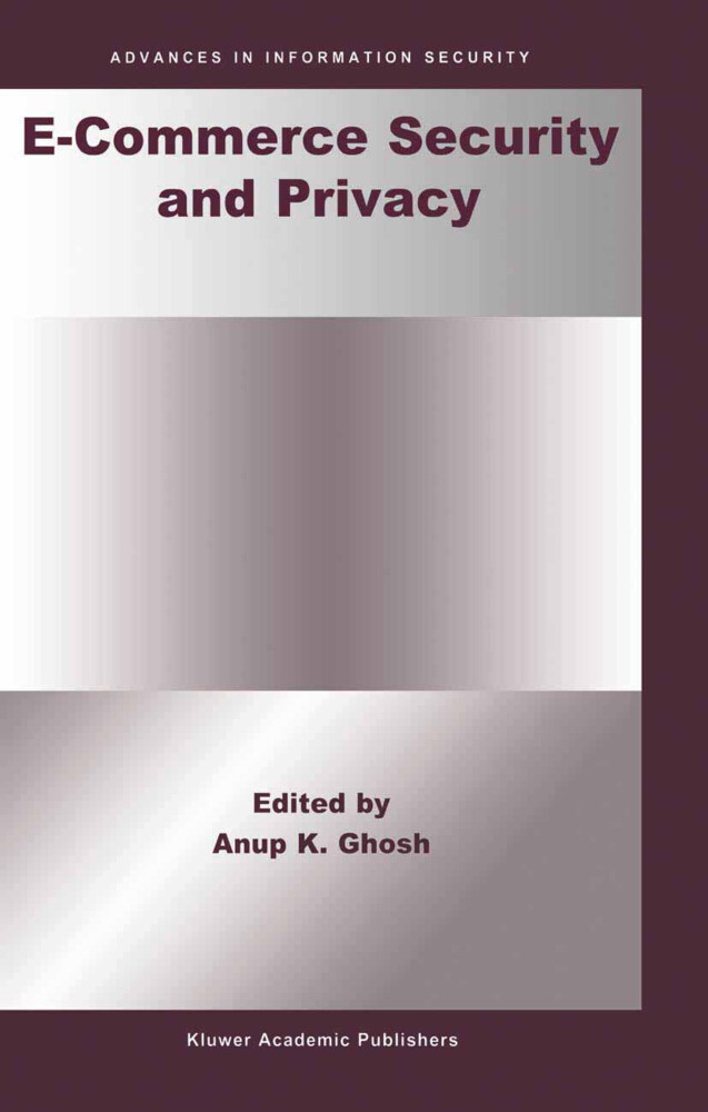 E-Commerce Security and Privacy als Buch