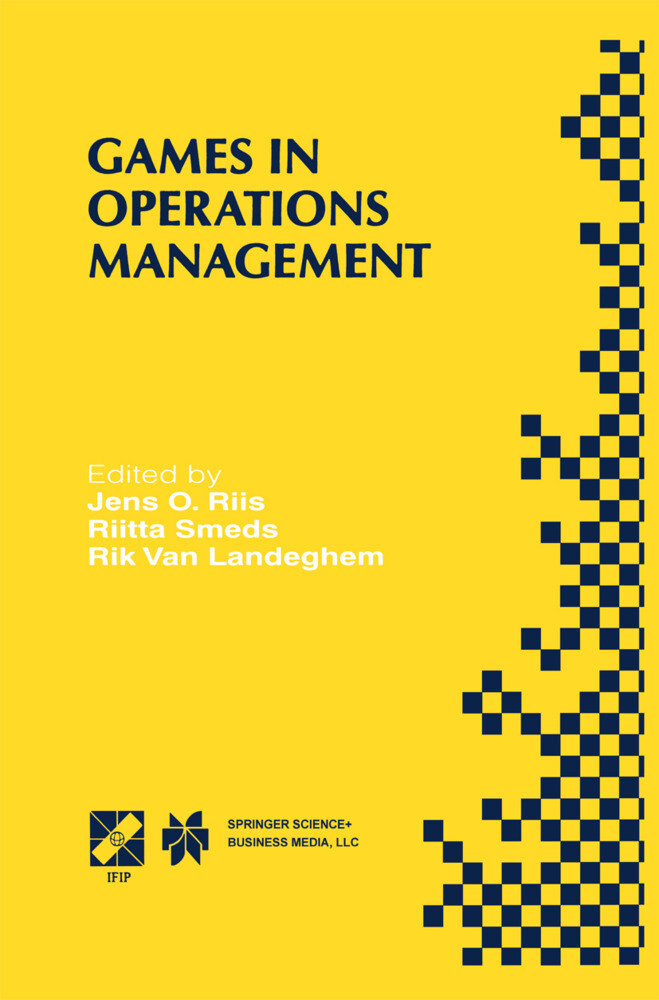 Games in Operations Management als Buch