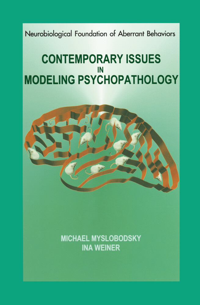 Contemporary Issues in Modeling Psychopathology als Buch