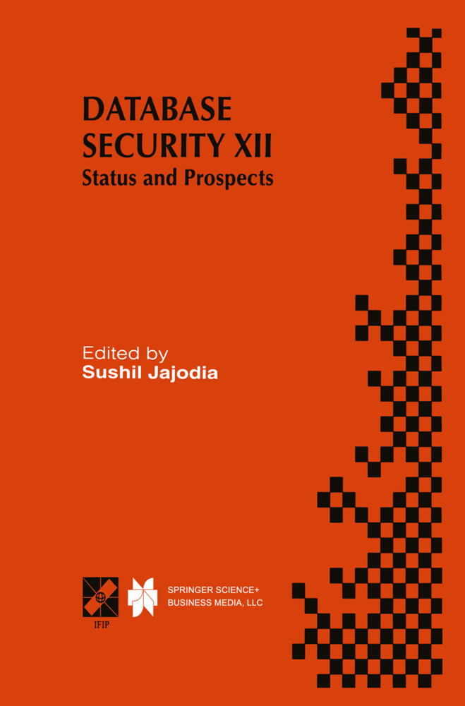 Database Security XII als Buch