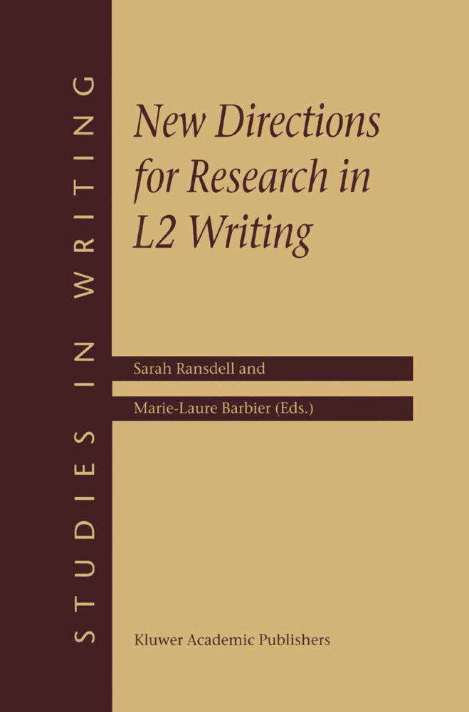 New Directions for Research in L2 Writing als Buch
