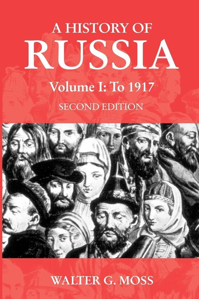 A History of Russia Volume 1 als Taschenbuch