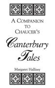 A Companion to Chaucer's Canterbury Tales als Buch
