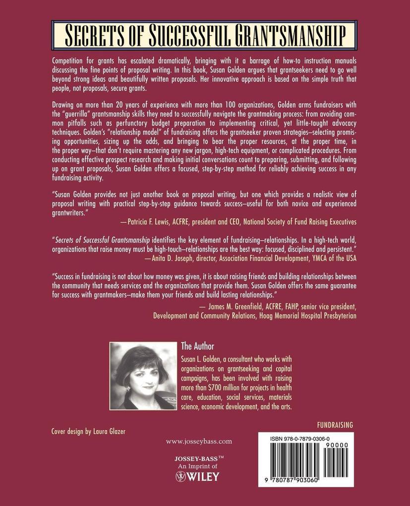 Secrets of Successful Grantsmanship als Taschenbuch