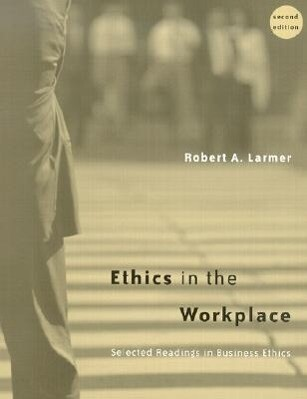 Ethics in the Workplace: Selected Readings in Business Ethics als Taschenbuch