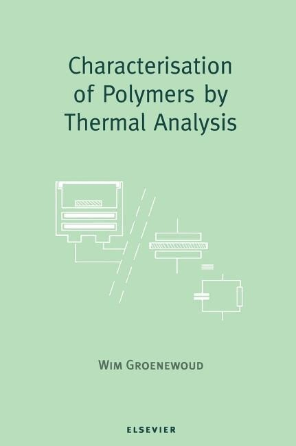 Characterisation of Polymers by Thermal Analysis als Buch