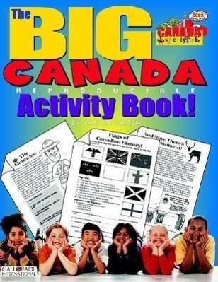 The Big Canada Reproducible Activity Book! als Taschenbuch