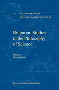 Bulgarian Studies in the Philosophy of Science