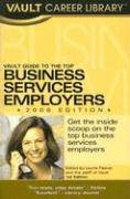 Vault Guide to the Top Business Services Employers als Taschenbuch