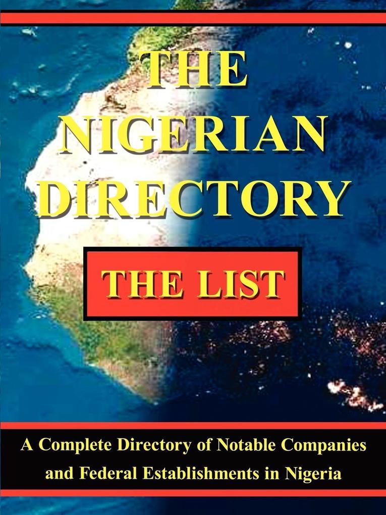 The Nigerian Directory als Taschenbuch