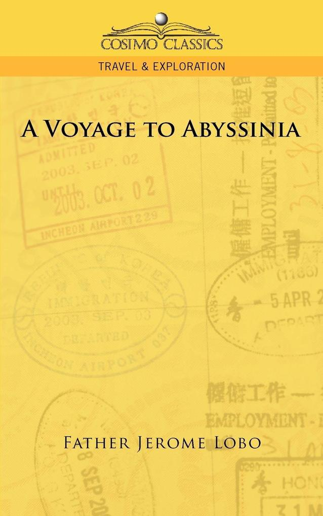 A Voyage to Abyssinia als Buch