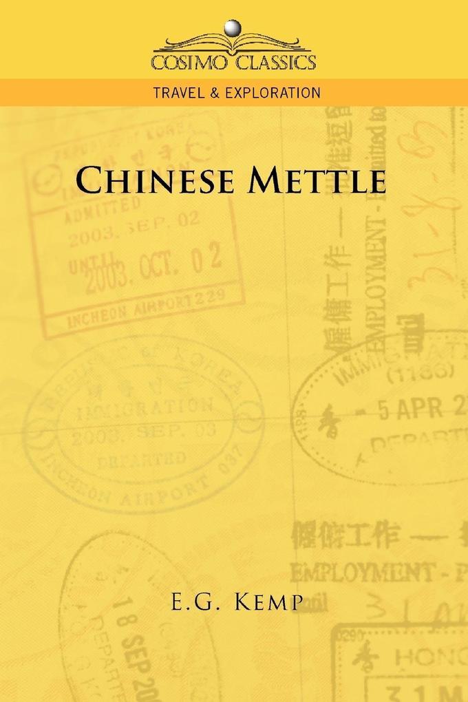 Chinese Mettle als Taschenbuch