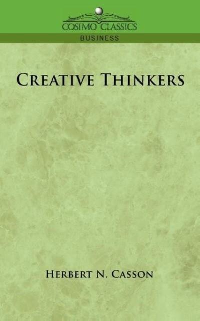 Creative Thinkers als Taschenbuch