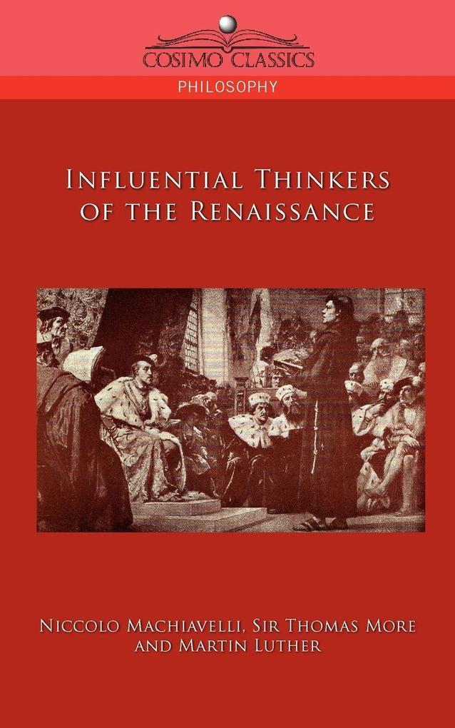 Influential Thinkers of the Renaissance als Taschenbuch