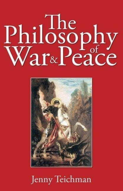 Philosophy of War and Peace als Taschenbuch