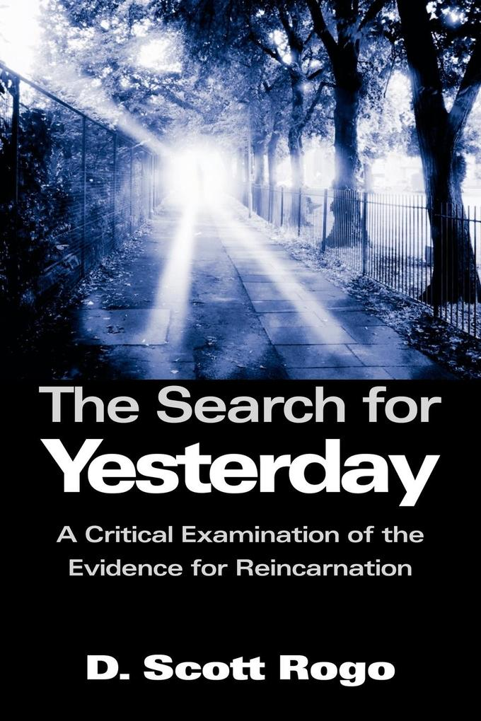 The Search for Yesterday als Taschenbuch