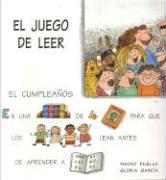 El Juego de Leer: El Cumpleanos als Buch