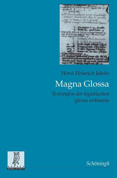 Magna Glossa als Buch