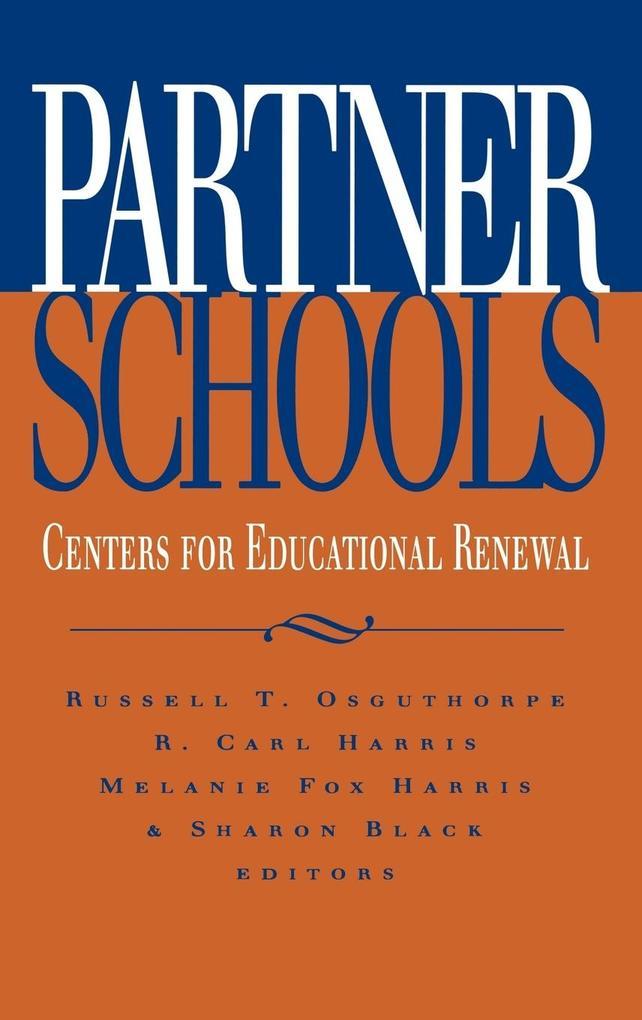 Partner Schools als Buch von Osguthorpe, Black,...