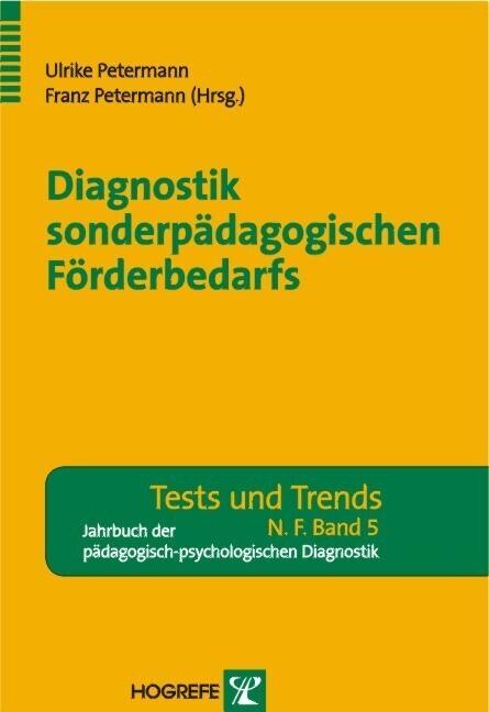 Diagnostik sonderpädagogischen Förderbedarfs al...
