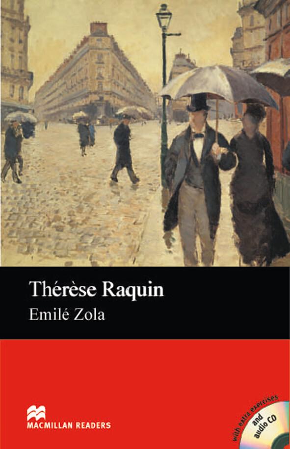 Thérèse Raquin als Buch von Emile Zola, Elizabe...
