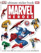 Ultimate Sticker Book: Marvel Heroes [With More Than 60 Reusable Full-Color Stickers]