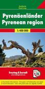 Pyrenäenländer 1 : 400 000. Autokarte