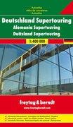 Deutschland Supertouring 1 : 400 000. Autoatlas