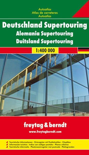 Deutschland Supertouring 1 : 400 000. Autoatlas...