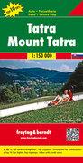 Tatra 1 : 150 000. Auto- und Freizeitkarte