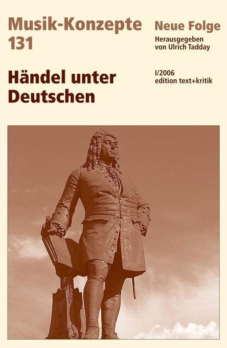 Händel unter Deutschen als Buch von Ulrich Tadday