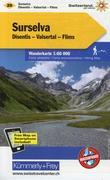KuF Schweiz Wanderkarte 20 1 : 60 000
