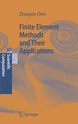 Finite Element Methods and Their Applications