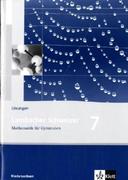 Lambacher Schweizer. 7. Schuljahr. Lösungen. Niedersachsen