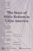 The State of State Reform in Latin America