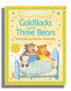 Usborne Fairytale Sticker Stories Goldilocks And The Three Bears