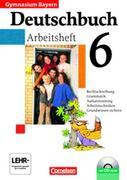 Deutschbuch Gymnasium 6. Jahrgangsstufe. Arbeitsheft mit Lösungen und CD-ROM. Bayern
