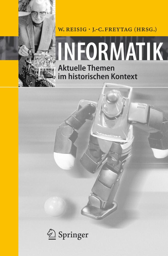 Informatik als Buch von Johann-Christoph Freyta...