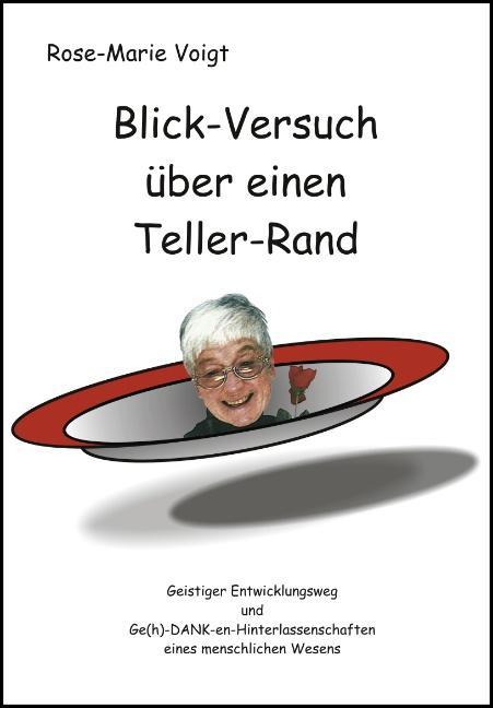 Blick-Versuch über einen Teller-Rand als Buch v...