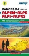 Mayr Panoramakarte Alpen - Österreich 1 : 500 000