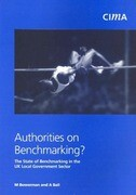 Authorities on Benchmarking: The State of Benchmakring in UK Local Government