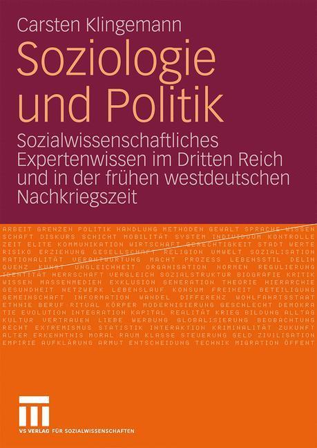 Soziologie und Politik als Buch von Carsten Kli...