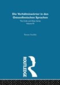 Die Verhaltnisworter in Den Ostseefinnischen Sprachen als Buch (gebunden)