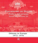 Detente in Europe, 1972-1976