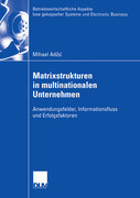 Matrixstrukturen in multinationalen Unternehmen
