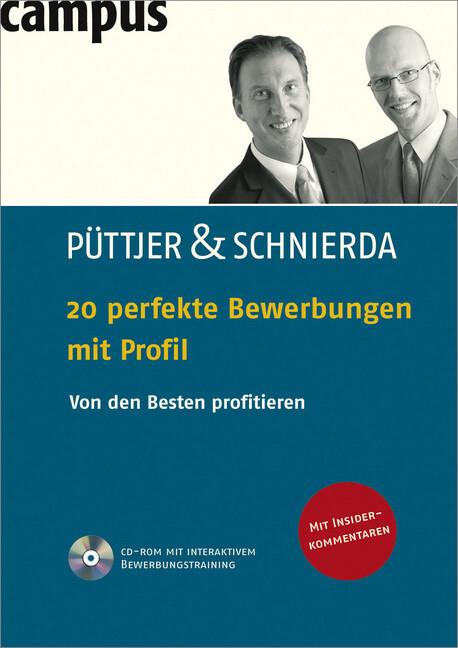 20 perfekte Bewerbungen mit Profil als Buch von...