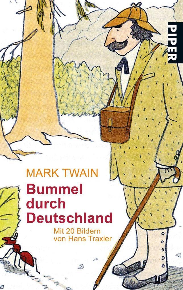 bummel durch deutschland taschenbuch mark twain. Black Bedroom Furniture Sets. Home Design Ideas