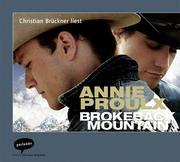 Brokeback Mountain. CD