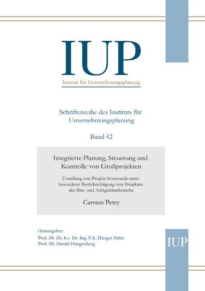 Integrierte Planung, Steuerung und Kontrolle vo...