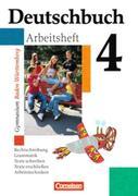 Deutschbuch 4. Arbeitsheft. Baden-Württemberg. Gymnasium. Neue Rechtschreibung
